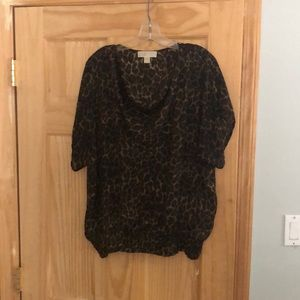 Michael Kors silk top